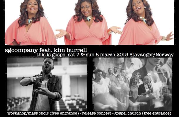 Kim Burrell & SGCompany 7 & 8 March 2015